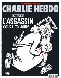 charge do Charlie Hebdo