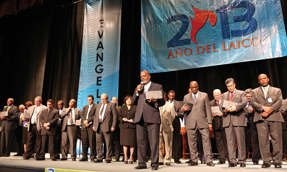"""A Divisão Interamericana designou 2013 como o """"ano dos leigos"""", resultando no acréscimo de milhares de novos membros à igreja. Crédito: Comunicação IAD"""