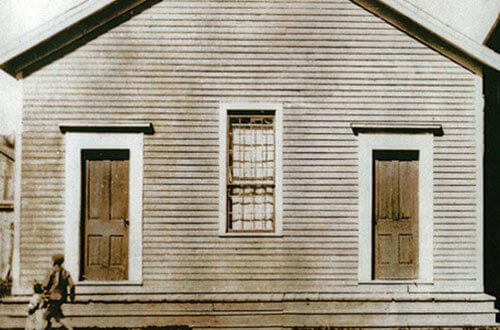 Local em que foi realizada a assembleia de 1863. Créditos da imagem: Adventist Review