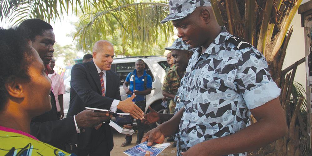 relatorio da Divisão Centro-Oeste Africana - foto 1