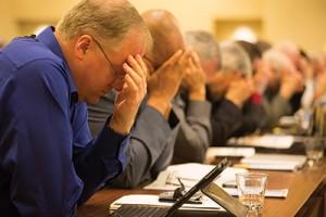 Os líderes e administradores da Divisão Norte-Americana se reuniram em Virgínia, em 2014, para pensar em formas de enxugar as estruturas administrativas da igreja a fim de melhorar a efetividade e a eficiência. Foto: Adventist Review