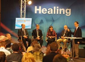 A saúde assumiu o palco principal no Congresso de Saúde da EUD, realizado em Praga, em abril de 2013.