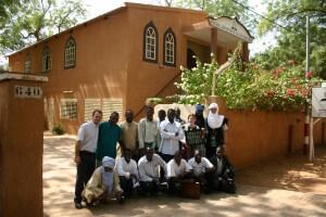 Igreja Adventista de Niamey, capital do Níger, inaugurada em 2004. Foto: Dioi Cruz / acervo pessoal