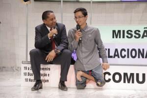 Jovem do Piauí supera limitações físicas para participar da Missão Calebe no Piauí. Foto: ASN
