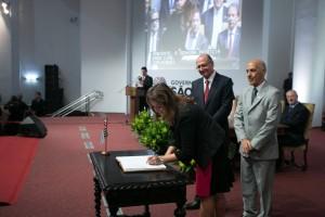 Patrícia foi nomeada pelo governador Geraldo Alckmin para dirigir a Secretaria de Meio Ambiente a partir de 2015. Foto: Diogo Moreira/Assessoria de Comunicação do Governo do Estado de São Paulo.