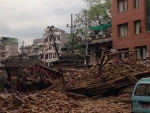 Por conta da ocorrência de muitos terremotos na região, líderes da igreja na região pensam em iniciar programa de conscientização diante  de eventos assim. Foto: ADRA Nepal