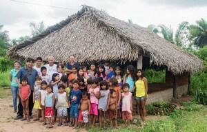 Há um ano, voluntários iniciaram trabalho em duas novas aldeias apinajés. A comunidade Areia Branca foi uma delas. Recentemente, o evangelho também começou a ser pregado na etnia xerente. Foto: Márcio Tonetti