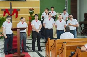 CPB enviou oito editores para pregar nas igrejas cariocas durante a Páscoa. Pastores da TV Novo Tempo e das sedes adventistas também participaram do evangelismo. Foto: Kátia Nunes