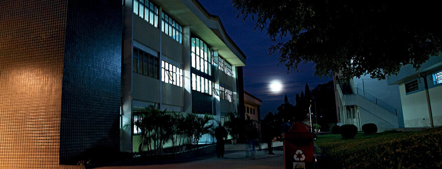 Nos prédios do campus São Paulo são oferecidos hoje 11 cursos universitários. Foto: Acervo Unasp