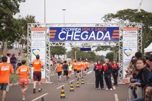 2ª Corrida Vida e Saúde contou com a participação de dois mil corredores. Iniciativa foi notícia na imprensa regional. Foto: Deivison Pedrê