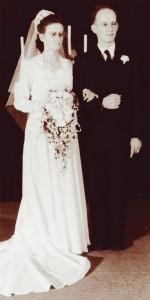 Lyle McCoy e Ruth Hansen se conheceram quando estudavam no Pacific Union College e se casaram. Foto: acervo Pacific Union College