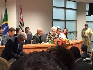 Frente Parlamentar pela Liberdade Religiosa é lançada na Assembleia Legislativa do Estado de São Paulo. Foto: arquivo pessoal / Damaris Moura