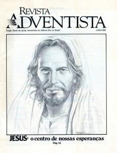 Capa da edição de julho de 1992 ilustrada por Heber Pintos.  Créditos: acervo Revista Adventista