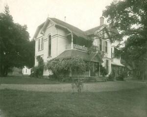 Última residência de Ellen G. White, em Santa Helena, Califórnia (EUA). Funcionou como escritório administrativo do White Estate até 1938. Ali chegaram as correspondências vindas do Brasil. Créditos: Ellen White Estate