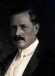 Frederick W. Spies (1866-1935), presidente da Conferência União Brasileira, encontrou-se com Ellen G. White em 24 de agosto de 1909, em Council Grove, Kansa (EUA). Créditos: Flávio Araújo Garcia