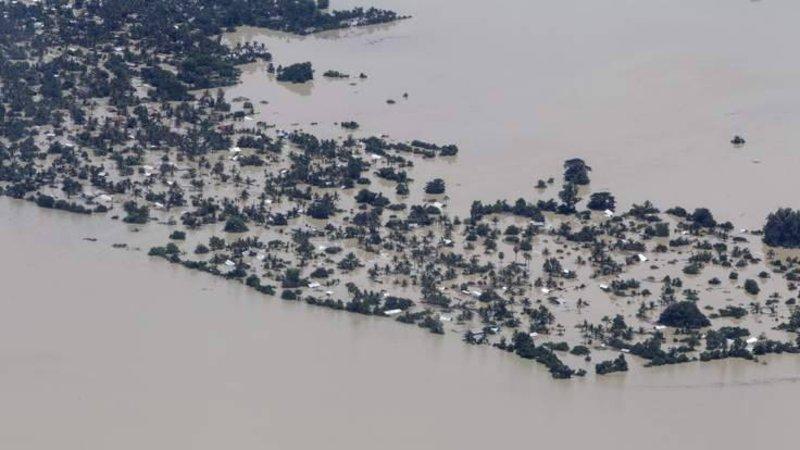 Voluntários adventistas ajudam a socorrer vítimas das enchentes em Myanmar