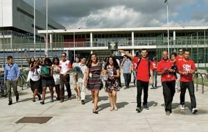 Depois de Nova York (EUA) e Salvador (Brasil), foi a vez de a igreja alcançar a cidade de Vitória com o mesmo lema que tem mobilizado milhares de jovens: a compaixão. Foto: ASN