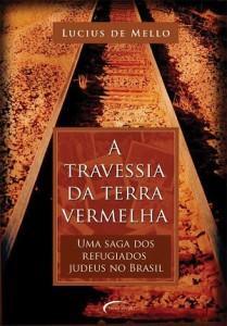 capa do livro A travessia da terra vermelha