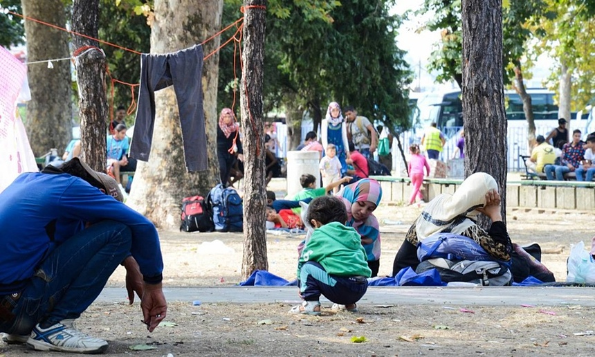 ADRA oferece apoio para refugiados em Belgrado, capital da Sérvia. Foto: ADRA