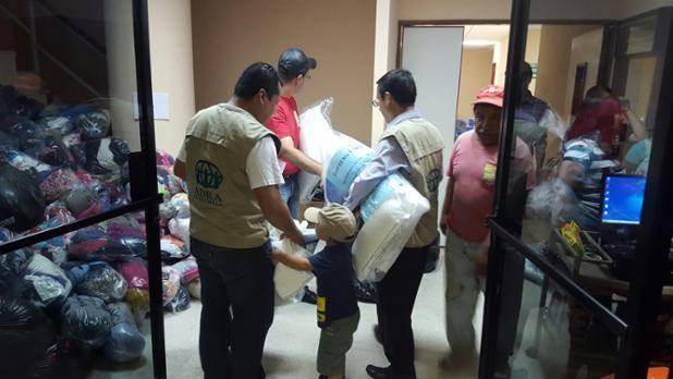 ADRA socorre vítimas de deslizamento de terra na Guatemala - foto 2
