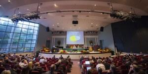 Reunião administrativa da igreja acontece na sede mundial da organização adventista, em Silver Spring (EUA). Créditos da imagem: reprodução da Adventist Review