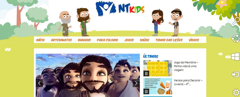 Novo Tempo cria espaço voltado especialmente para as crianças na internet