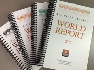 Panorama da liberdade religiosa no mundo - relatório 2015