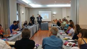 Treinamento internacional para surdos - Divisao intereuropeia
