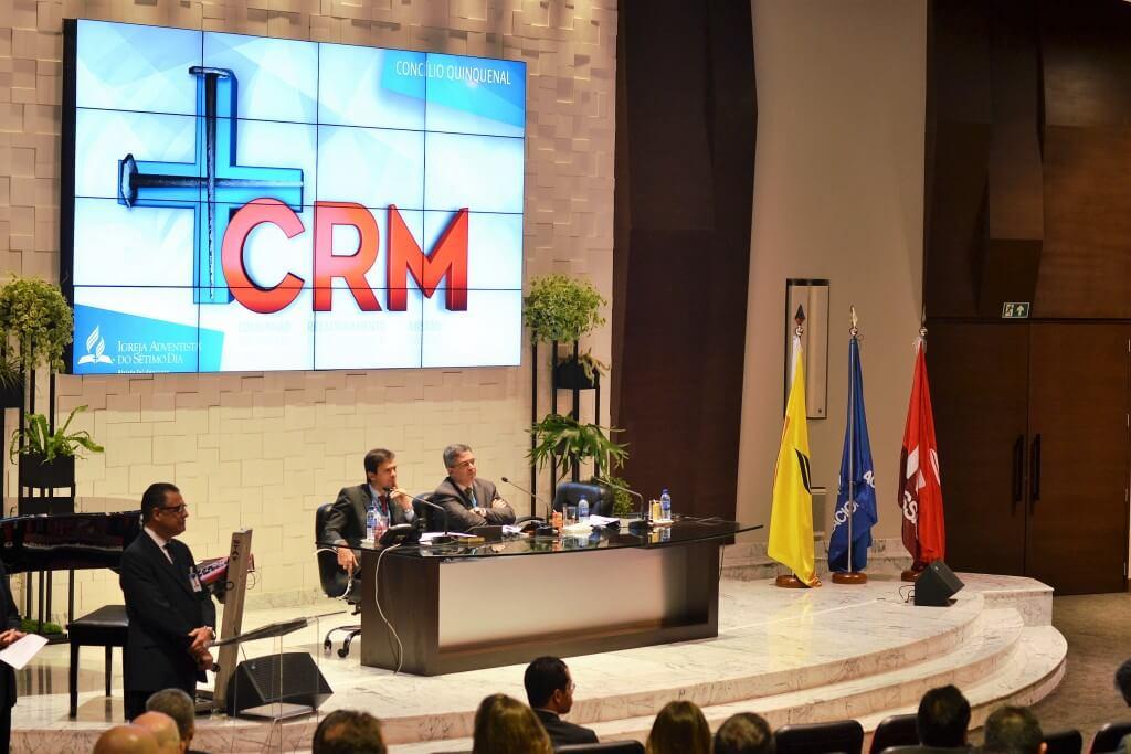 Cerca de 250 líderes sul-americanos da igreja participam do Concílio Quinquenal. Foto: Márcio Tonetti