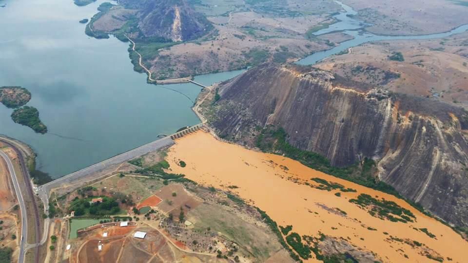 Rio Doce na Divisa de MG com o ESP - creditos Secom-ES