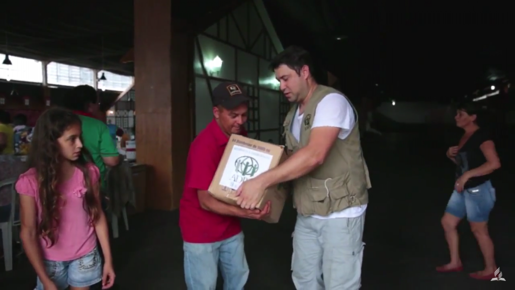 Parceria da ADRA com a Defesa Civil do Paraná