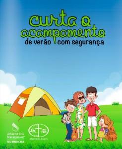 Cartilha traz dicas de segurança para participantes de retiros espirituais de verão.