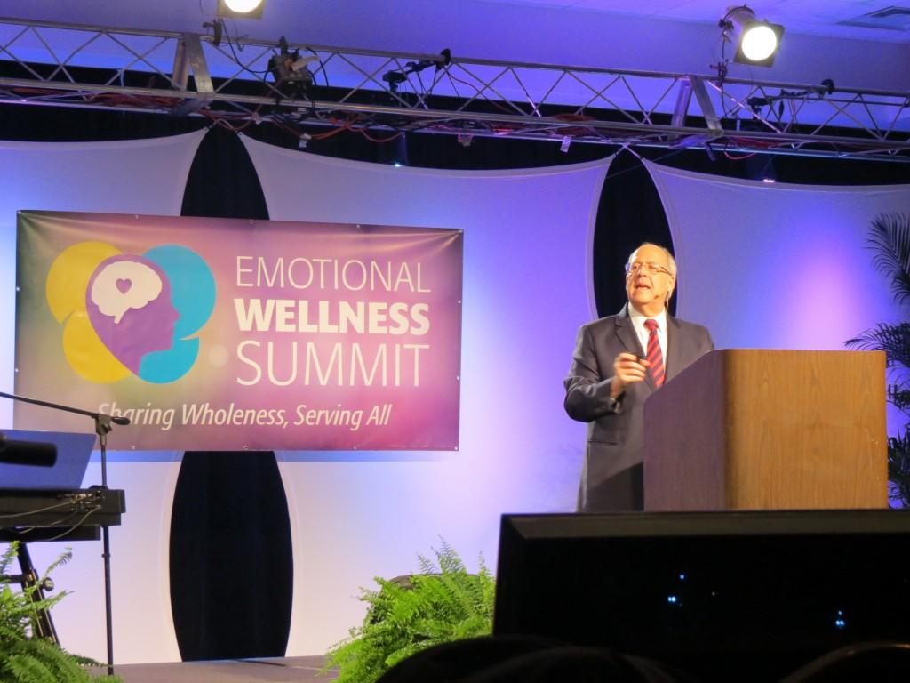 Congresso internacional discute sobre saúde emocional em Orlando, na Flórida (EUA). Créditos da imagem: Michelson Borges