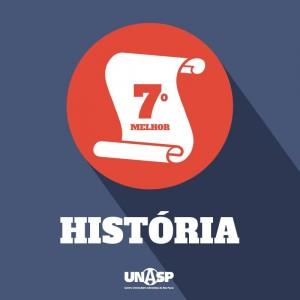 Curso de história do Unasp é avaliado como o sétimo melhor do Brasil