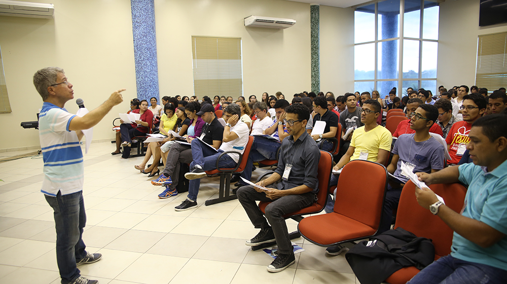 Profissionais e leigos do Pará, Amapá e Maranhão participaram do primeiro encontro de músicos adventistas da região Norte do Brasil. Créditos da imagem: Faama