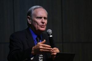 Dr. James Gibson, diretor do Instituto de Pesquisa em Geociência (GRI, na sigla em inglês). Foto: Murilo Pereira