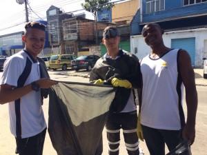 Alunos de escolas adventistas do Rio participam de mobilização nacional contra o zika vírus. Foto: