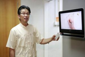 Billy Liu, atual diretor-executivo do centro de mídia em Hong Kong, na China. Créditos da imagem: reprodução Adventist Review