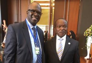 Líder mundial de liberdade religiosa discursa na sede da União Africana