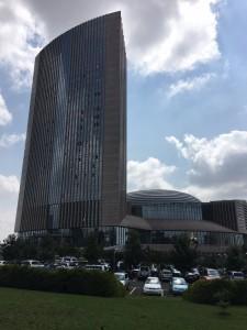 Sede da União Africana, em