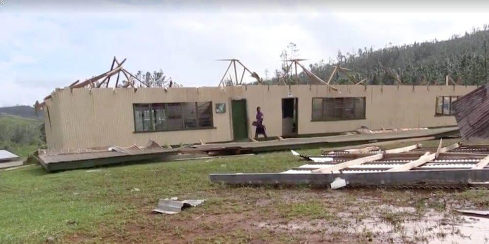 Ciclone devastador