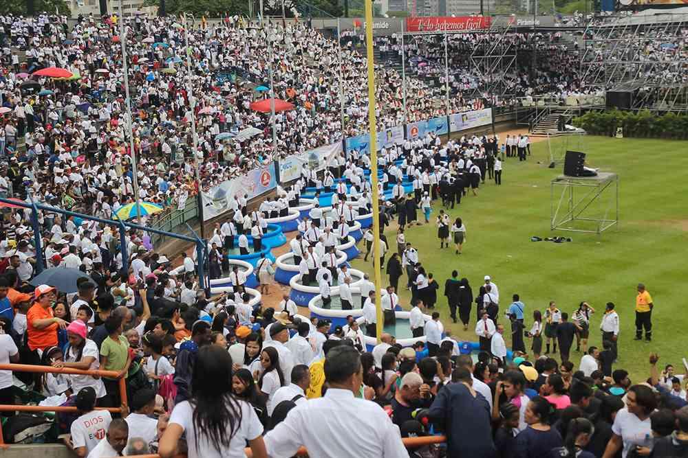 Batismo histórico na Venezuela - 2