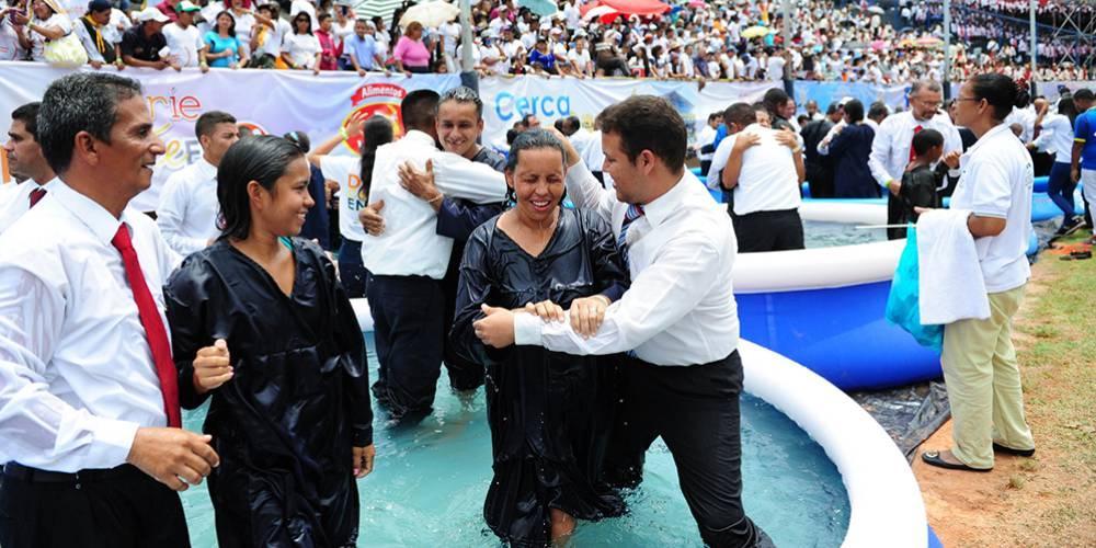 Batismo histórico na Venezuela