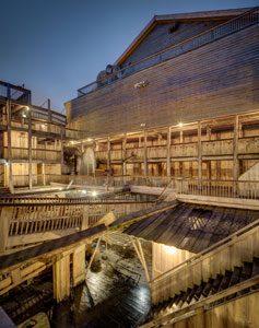 Imagem da réplica da arca de Noé - reprodução arkofnoah.org