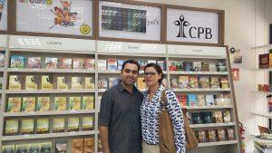 Inauguração da livraria da CPB em Goiânia - casal