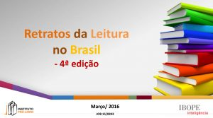 Retratos da Leitura no Brasil 2015