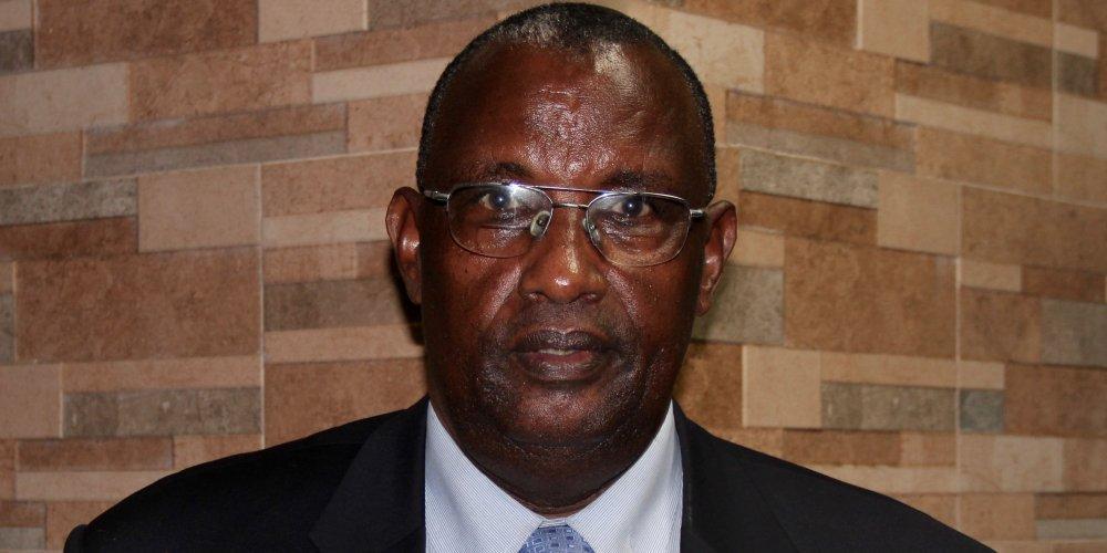 O pastor Isaac Ndwaniye perdeu toda a família durante o genocídio de 1994. Créditos da imagem: Gina Wahlen