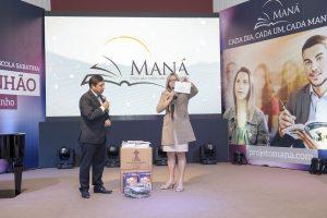 Verônica Cunha: Advogada carioca é uma das grandes apoiadoras do Projeto Maná. Com seu incentivo, 100% dos membros da igreja que frequenta hoje são assinantes da lição da Escola Sabatina. Foto: Daniel de Oliveira