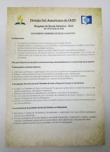 Voto tomado pela Divisão Sul-Americana propõe a integração das estruturas da Escola Sabatina e dos Pequenos Grupos no discipulado. Clique na imagem para ler o documento na íntegra.