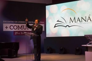 Pastor Ramón Canals, líder mundial da Escola Sabatina, foi um dos convidados do evento. Foto: Márcio Tonetti